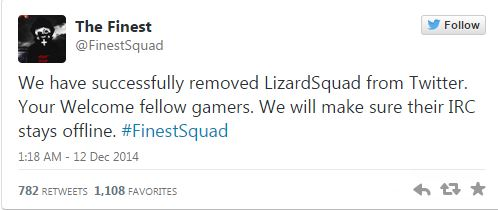 Lizard Squad Unmasked by The Finest Squad