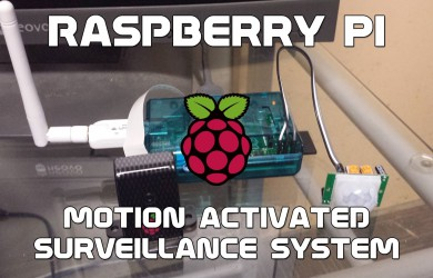 DIY home alarm and surveillance system