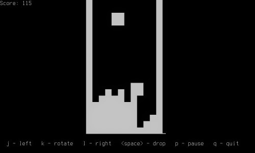 Linux Games From Command Box Tetris-500x300